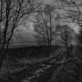 Walking In A Muddy Lane by William Eiffert