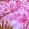 Walking In Spring by Wonju Hulse