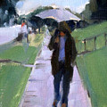 Walking In The Rain by Merle Keller