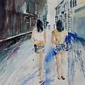 Walking In The Street by Pol Ledent