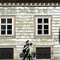Walking In Vienna by Sharon Popek