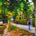 Walking On A Beautiful Path by Ashish Agarwal
