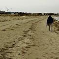 Walking The Beach by Robert McCulloch