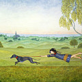 Walking The Dog  by Ditz