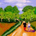 Walking The Dog by Rusty Gladdish