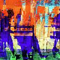 Walking Through The City by Gabi Hampe