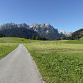 Walking To Niederdorf In The Dolomites by Quintin Rayer