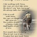 Walking With Nana by Dale Kincaid