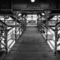Walkwak To The Ell Trains by John McArthur