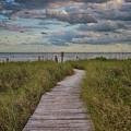 Walkway To The Beach by Deborah Benoit