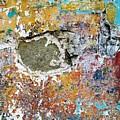Wall Abstract 196 by Maria Huntley