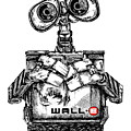 Wall-e by James Sayer