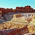 Wall Of Goblins In Carmel Canyon Trail In Goblin Valley State Park, Utah by Ruth Hager