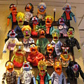Wall Of Muppets by Choi Ling Blakey