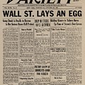 Wall Street Lays An Egg. Famous by Everett