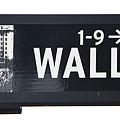Wall Street Sign Close Up 1 by Nishanth Gopinathan