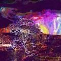 Wallpaper Background Jaguar Forest  by PixBreak Art