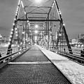 Walnut St. Bridge At Night by John Daly