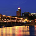 Walnut Street Bridge by Shelley Neff