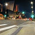 Walt Disney Concert Hall - Los Angeles Art by Lourry Legarde