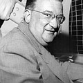 Walter O'malley President Of The Brooklkyn Dodgers. 1955 by Barney Stein