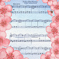 Waltz Of The Flowers Dancing Pink by Irina Sztukowski