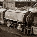Wanamie Pennsylvania Coal Mine Locomotive Lokey 1969... by Arthur Miller