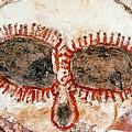 Wandjina Face by Tom Keating