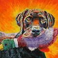 Wannabe Retriever Great Dane by Bob Williams