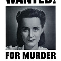 Housewife Wanted For Murder - Ww2 by War Is Hell Store