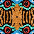 War Eagle Totem Mosaic by Shelli Fitzpatrick