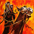 War Horses by John Lautermilch