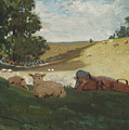 Warm Afternoon by Winslow Homer