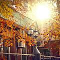 Warm Autumn City. Warm Colors And A Large Film Grain. by Evgeniy Belyaev