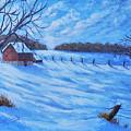 Warm Winter Barn by Daniel Crossway