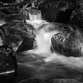 Warme Bode, Harz - Monochrome Version by Andreas Levi