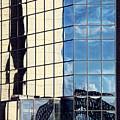 Warped Harbour Bridge Reflection By Kaye Menner by Kaye Menner