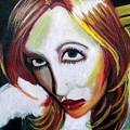 Warped Self Portrait by Rachel Pochedly