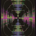 Warping Neon by Tammie Sisneros