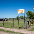 Warrenton Texas Antique Days Park Here by JG Thompson