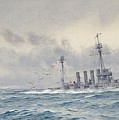 Warrior After The Battle Of Jutland by MotionAge Designs
