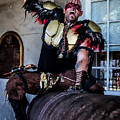 Warrior On A Cannon - New Orleans by Kathleen K Parker