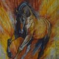 Warrior by Silvana Gabudean Dobre