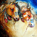 Warrior Spirits Two by Marcia Baldwin