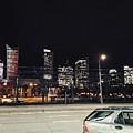 Warsaw At Night by Christian Smochko