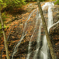Wash Hollow Falls Nantahala National Forest Nc by Wayman Benton