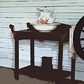Wash Stand by Judy  Waller