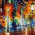 Washed City by Leonid Afremov