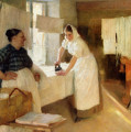 Washerwomen by Albert Edelfelt