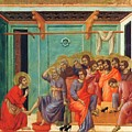 Washing Of Feet 1311 by Duccio